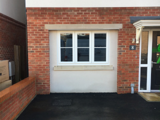 Photo of two tone garage conversion by Vickers